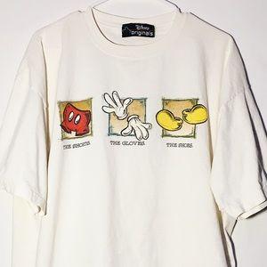 Disnay Original Mikey white Shirt vintage